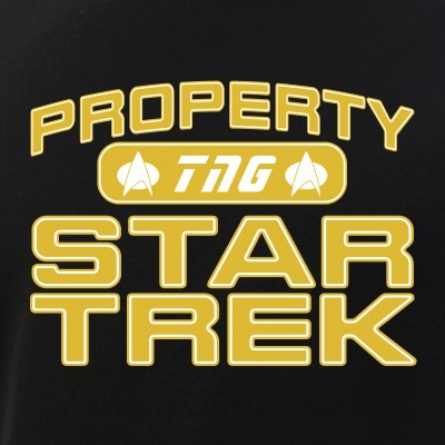 Gold Property Star Trek - TNG