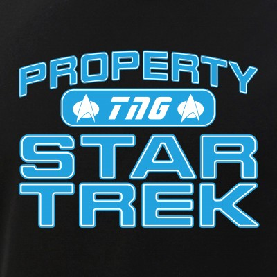 Blue Property Star Trek - TNG