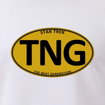 Star Trek: TNG Gold Oval