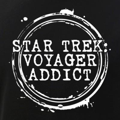 Star Trek: Voyager Addict Stamp