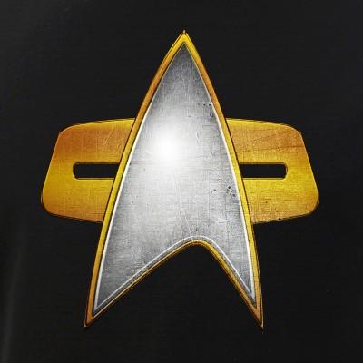 Distressed Starfleet Combadge