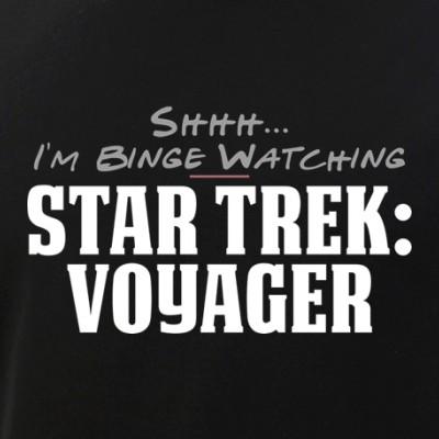 Shhh... I'm Binge Watching Star Trek: Voyager