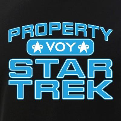 Blue Property Star Trek - VOY