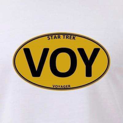 Star Trek: VOY Gold Oval