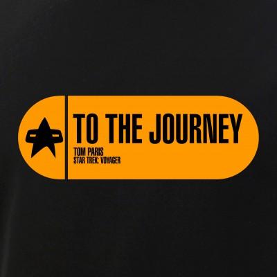 To the Journey - Star Trek Quote