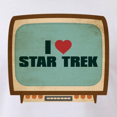 Retro I Heart Star Trek