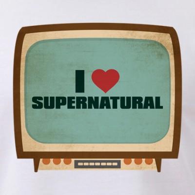 Retro I Heart Supernatural