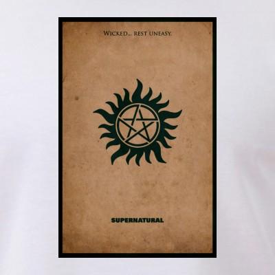 Supernatural MInimalist Poster Design