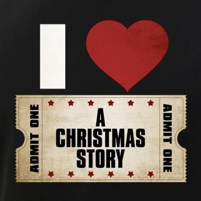 I Heart A Christmas Story Ticket