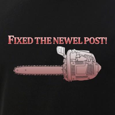 Fixed the Newel Post!