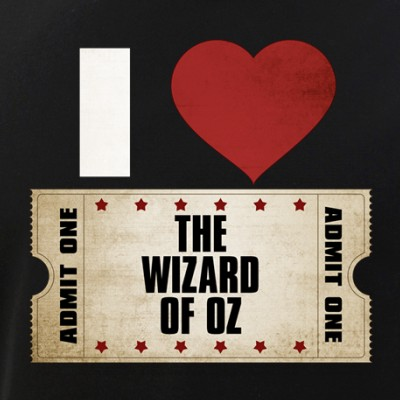 I Heart The Wizard of Oz Ticket