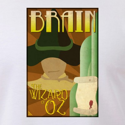 Wizard of Oz Scarecrow Deco Poster Design