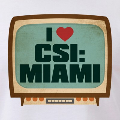 Retro I Heart CSI: Miami