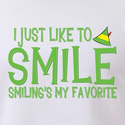 I Just Like to Smile, Smiling's My Favorite