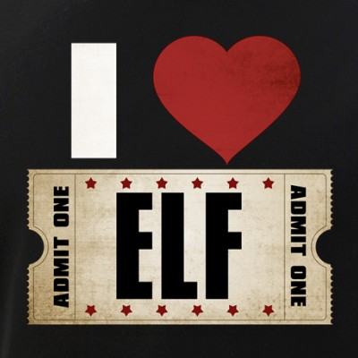 I Heart Elf Ticket