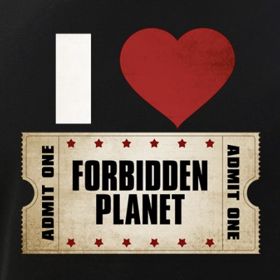 I Heart Forbidden Planet Ticket