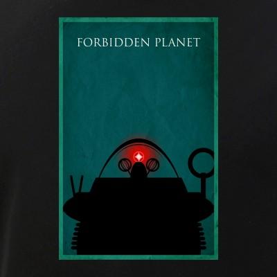 Forbidden Planet Minimalist Poster Design