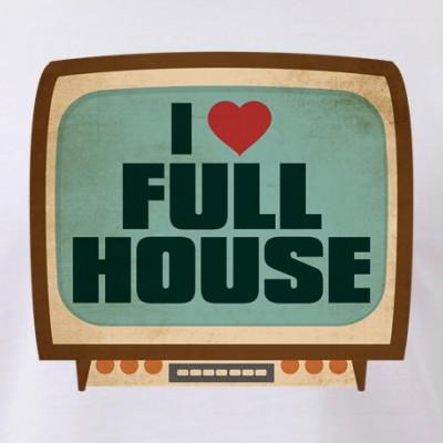Retro I Heart Full House