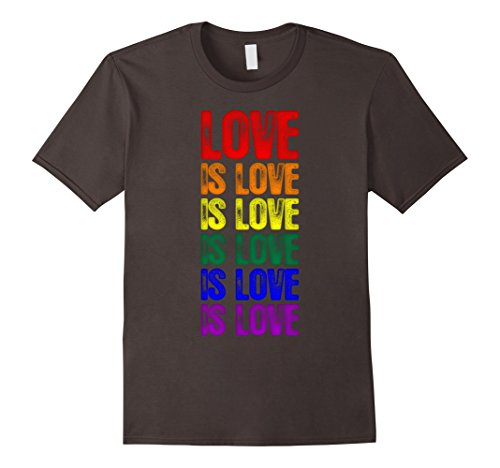 Gay Pride Flag Love is Love is Love T-Shirt