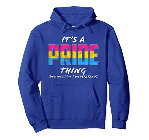 It's a Pride Thing - Pansexual Pride Flag Pullover Hoodie