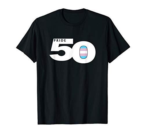 Pride 50 Transgender Pride Flag T-Shirt