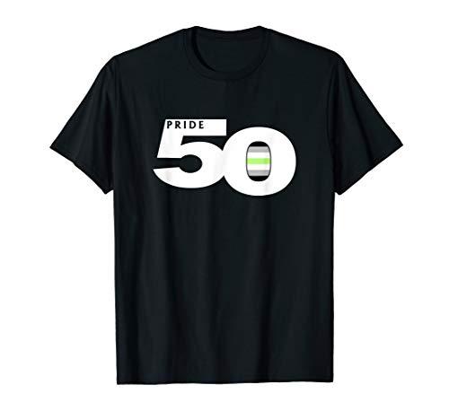 Pride 50 Agender Pride Flag T-Shirt