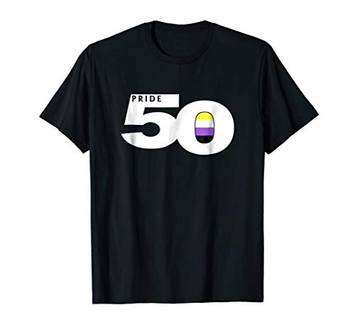 Pride 50 Nonbinary Pride Flag T-Shirt