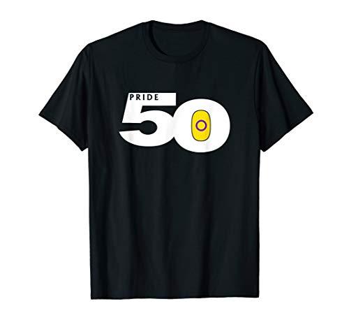 Pride 50 Intersex Yellow Pride Flag T-Shirt