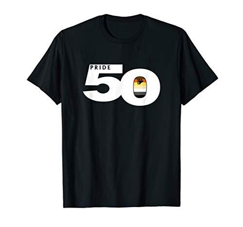 Pride 50 Gay Bear Pride Flag T-Shirt