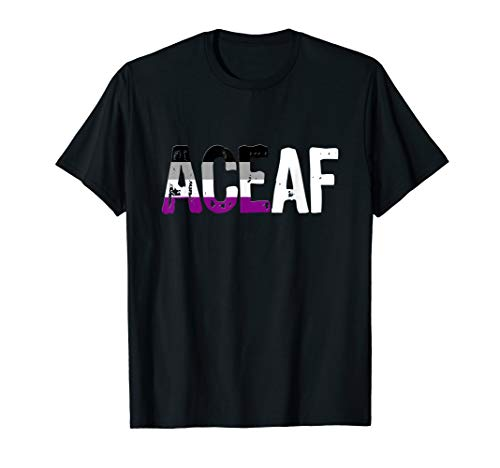 ACE AF Ace as Fuck Asexual Pride Flag T-Shirt
