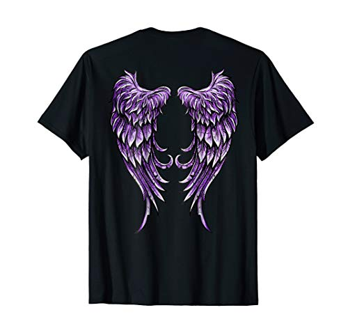 Purple Angel Wings T-Shirt