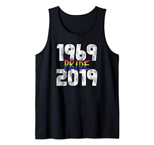 1969-2019 50th Pride Anniversary Tank Top