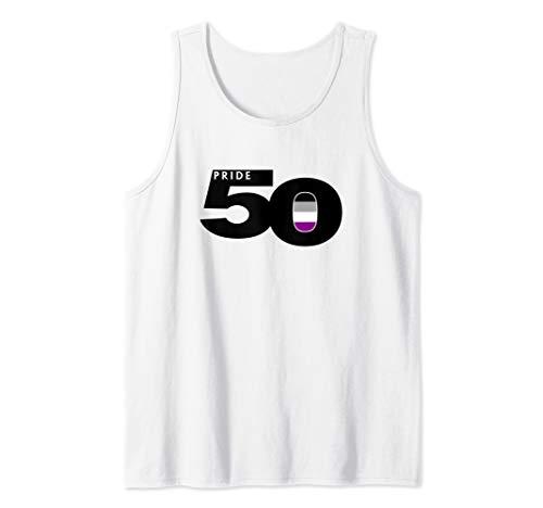 Pride 50 Asexual Pride Flag Tank Top