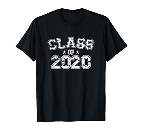 Distressed Class of 2020 T-Shirt