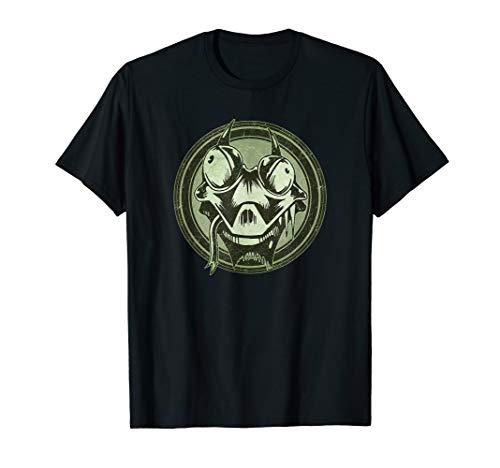 Distressed Wild Lizard Stamp T-Shirt