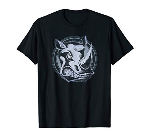 Distressed Wild Rhino Stamp T-Shirt