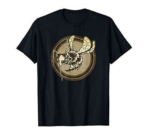 Distressed Wild Wasp Stamp T-Shirt