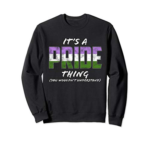 It's a Pride Thing - Genderqueer Pride Flag Sweatshirt