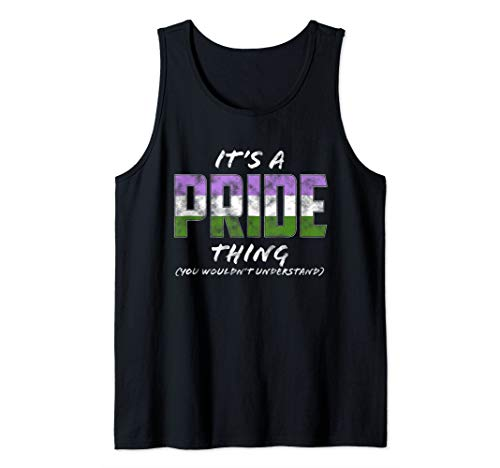 It's a Pride Thing - Genderqueer Pride Flag Tank Top
