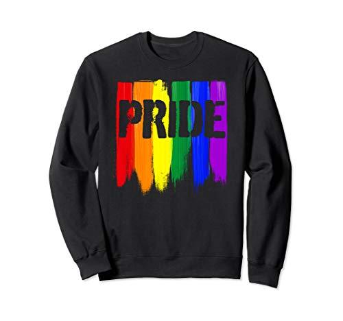 LGBTQ Pride Brush Strokes Sweatshirt