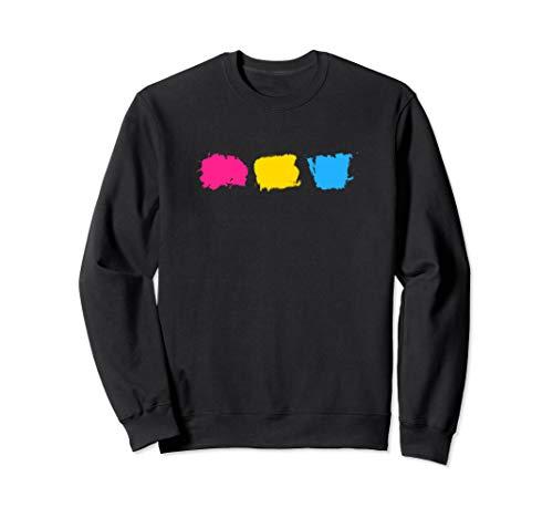 Minimal Pansexual Pride Flag Stroke Sweatshirt