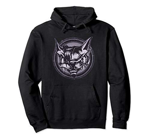 Wild Cat Grunge Animal Pullover Hoodie