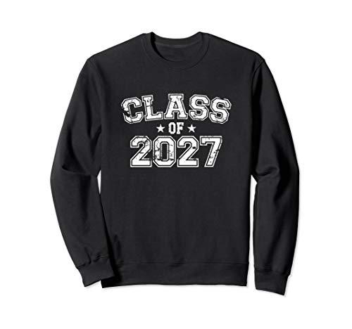Distressed Class of 2027 Sweatshirt