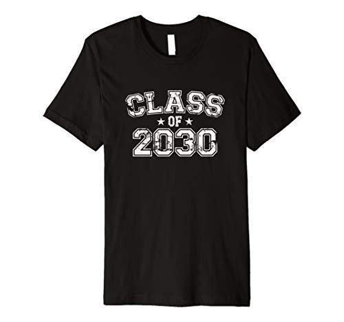 Distressed Class of 2030 Premium T-Shirt