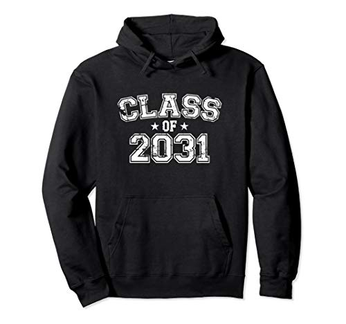 Distressed Class of 2031 Pullover Hoodie