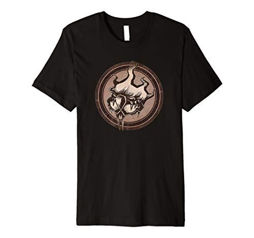 Distressed Wild Beaver Stamp Premium T-Shirt
