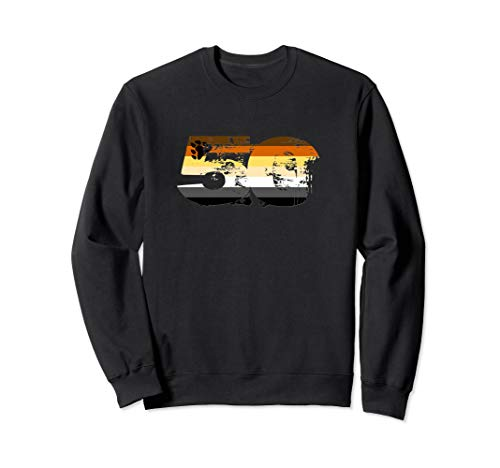 Gay Bear Grunge 50 Pride Flag Sweatshirt