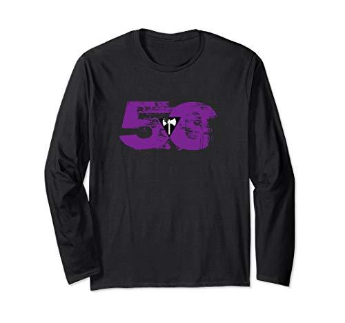 Lesbian Labrys Grunge 50 Pride Flag Long Sleeve T-Shirt