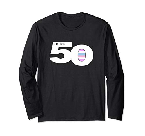 Pride 50 Bigender Pride Flag Long Sleeve T-Shirt