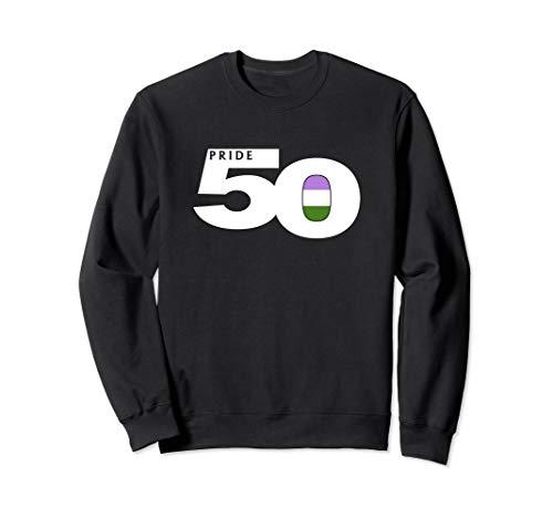 Pride 50 Genderqueer Pride Flag Sweatshirt